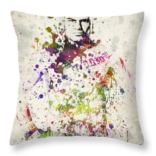 Cain Velasquez Throw Pillow by Aged Pixel