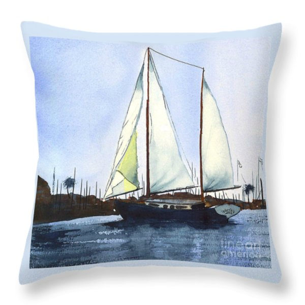 California Dreamin II Throw Pillow by Kip DeVore