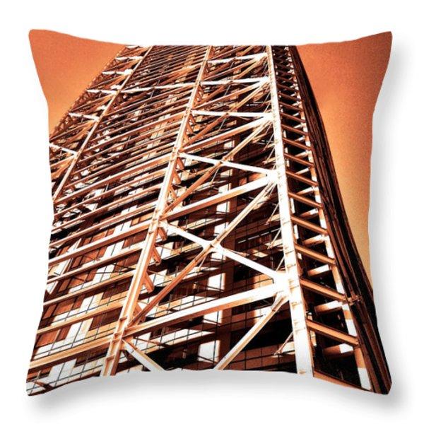 Calle Marina ... Throw Pillow by Juergen Weiss