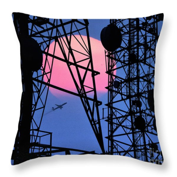 Calls of the Night Throw Pillow by Edmund Nagele