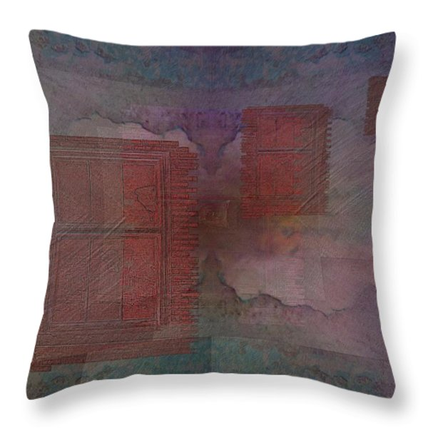 Can You Hear Me Knocking Now Throw Pillow by Tim Allen