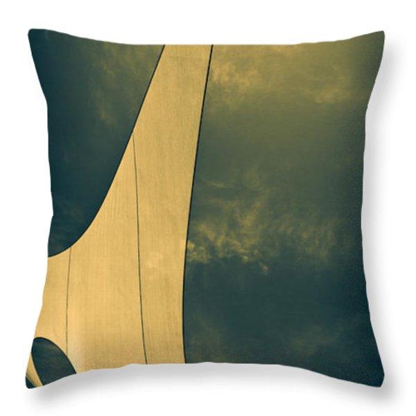 Canvas Sky Throw Pillow by Bob Orsillo