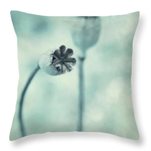 Capsules Series Throw Pillow by Priska Wettstein