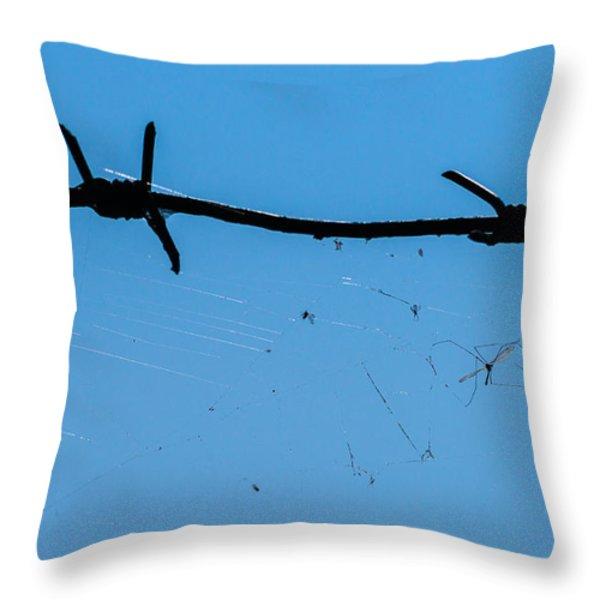 Captivity - Featured 3 Throw Pillow by Alexander Senin