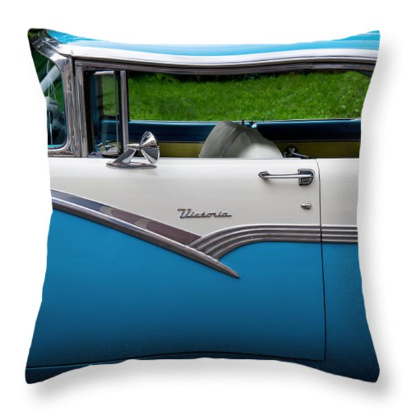 Car - Victoria 56 Throw Pillow by Mike Savad