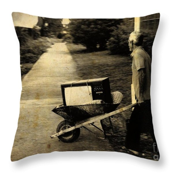Careful With That Its Expensive Throw Pillow by John Malone Halifax photographer