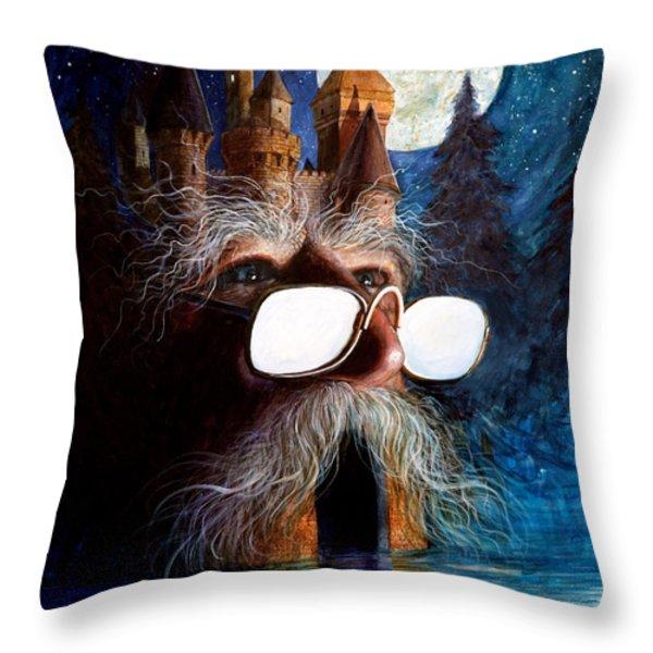 Casolgye Throw Pillow by Frank Robert Dixon