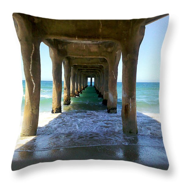 Catharsis  Throw Pillow by Joe Schofield
