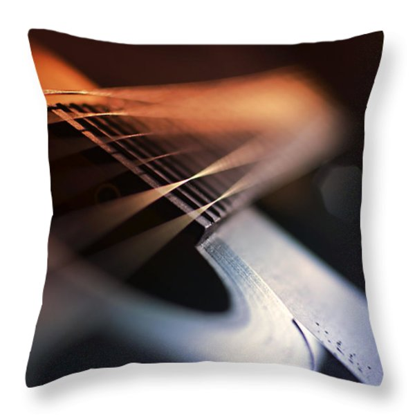 Cat's In The Cradle Throw Pillow by Laura Fasulo