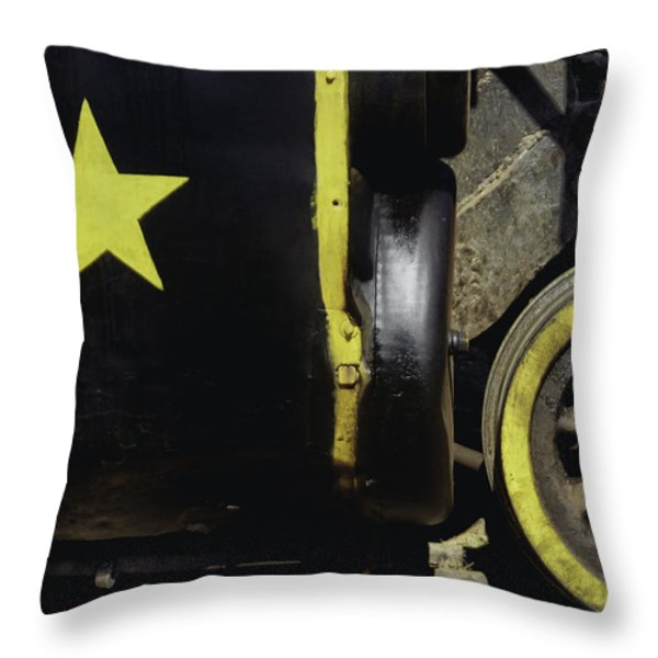 Cause Out On The Edge Of Darkness There Rides A Peace Train.. Throw Pillow by A Rey