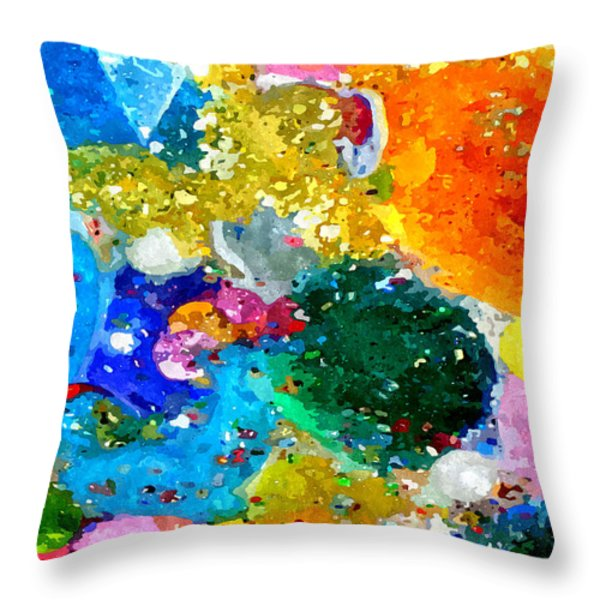 Celebration Throw Pillow by James Elmore