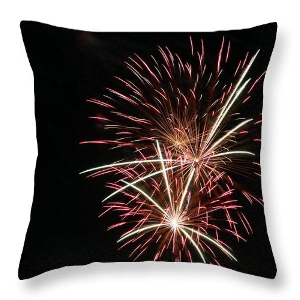 Celebration XXI Throw Pillow by Pablo Rosales