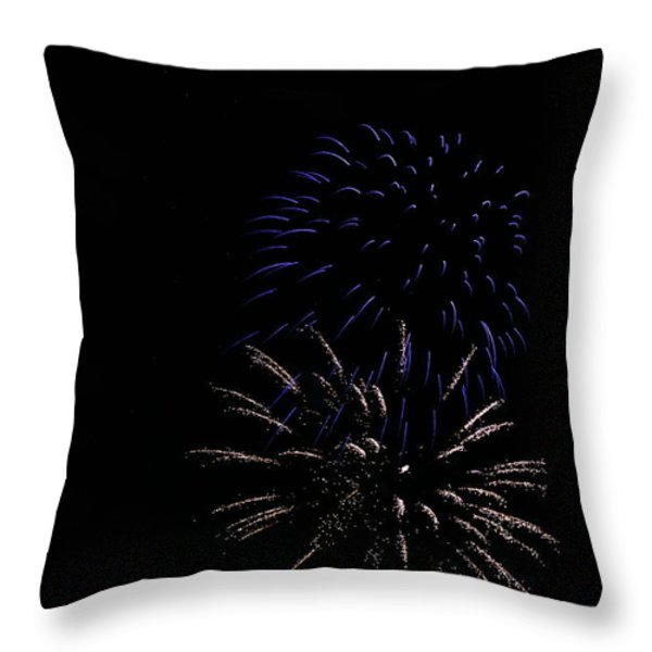 Celebration XXXIV Throw Pillow by Pablo Rosales