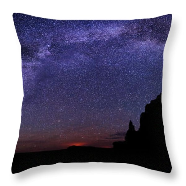 Celestial Arch Throw Pillow by Chad Dutson
