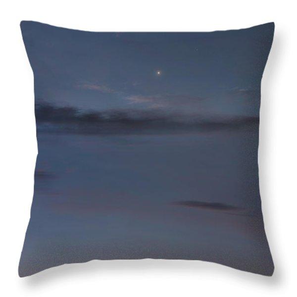 Celestial Dance Throw Pillow by Bill  Wakeley