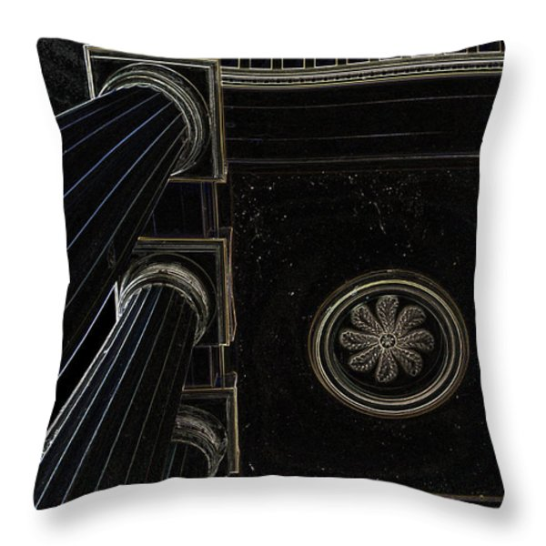 Celestial Pillars Throw Pillow by Inspired Nature Photography By Shelley Myke