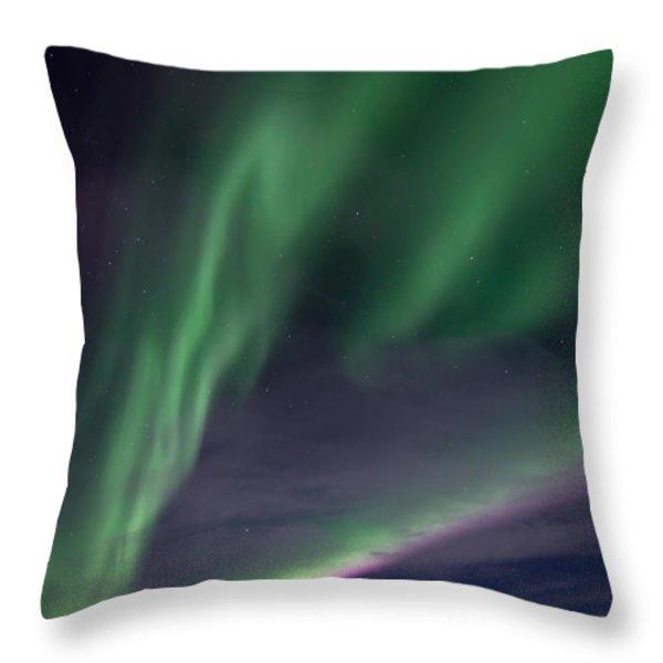 celestial  Throw Pillow by Priska Wettstein