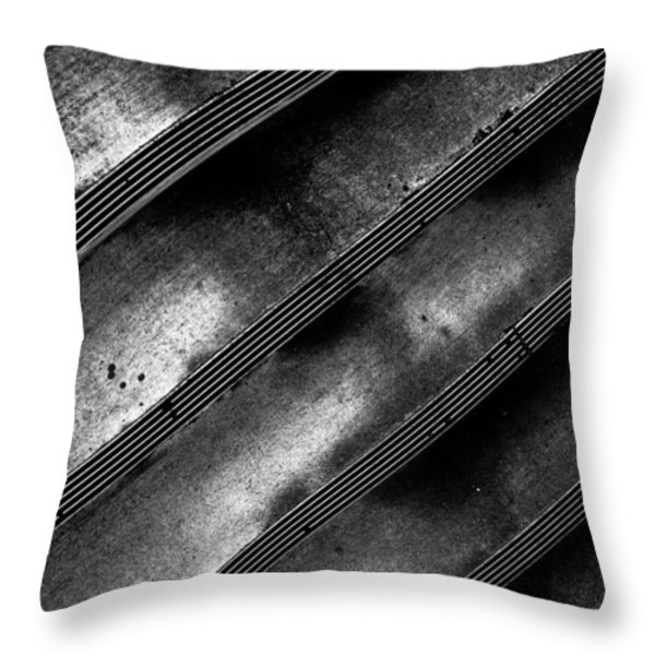 Cement Steps Number Two Throw Pillow by Bob Orsillo