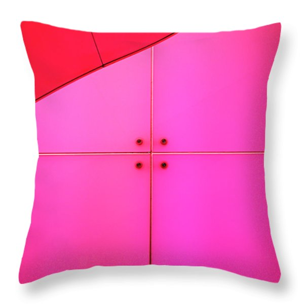 Centre Square Throw Pillow by Rona Black