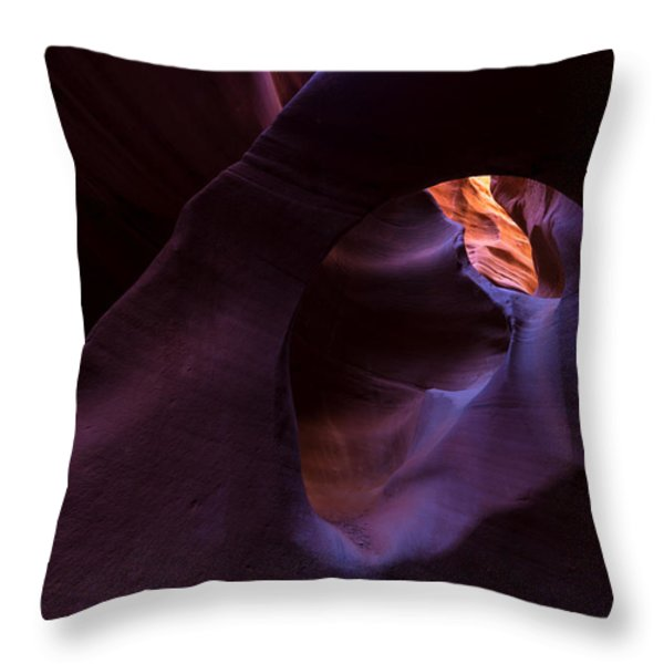 Chamber Of Reflection Throw Pillow by Dustin  LeFevre