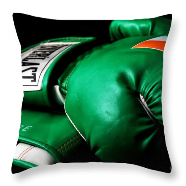 Champ Throw Pillow by John Rizzuto