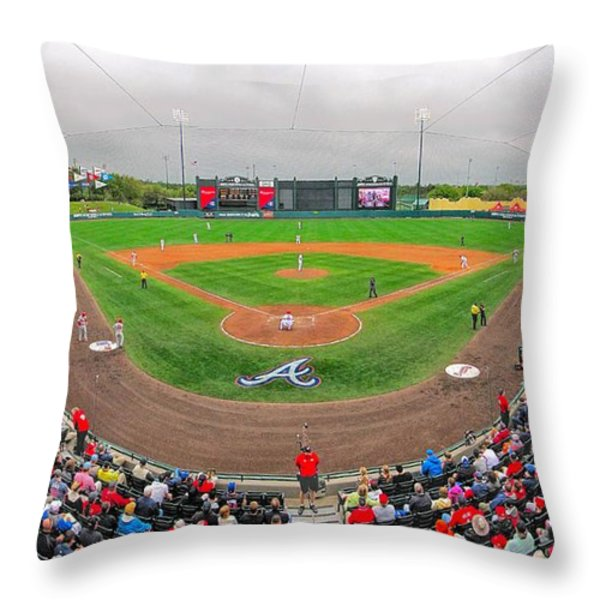 Champion Stadium II Throw Pillow by C H Apperson