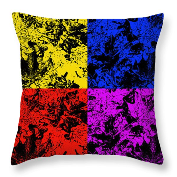 Changing Seasons Throw Pillow by Aimee L Maher Photography and Art