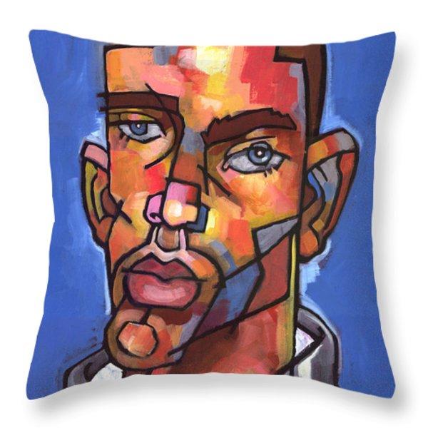 Channing Throw Pillow by Douglas Simonson
