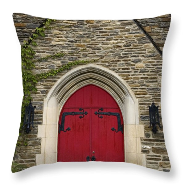 Chapel - D003211 Throw Pillow by Daniel Dempster