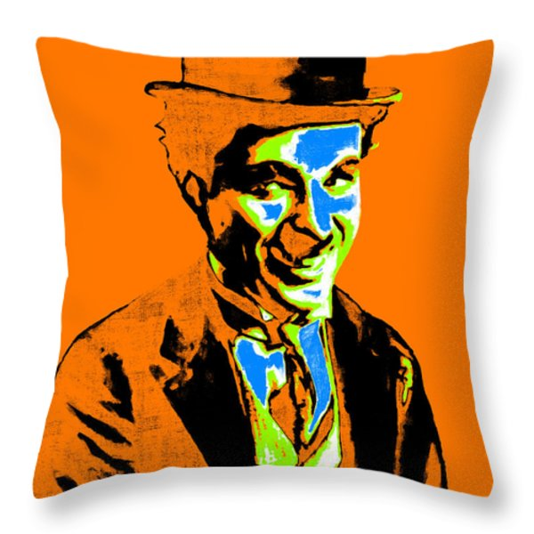 Charlie Chaplin 20130212p28 Throw Pillow by Wingsdomain Art and Photography