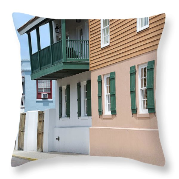 Charlotte Street Throw Pillow by Kenneth Albin
