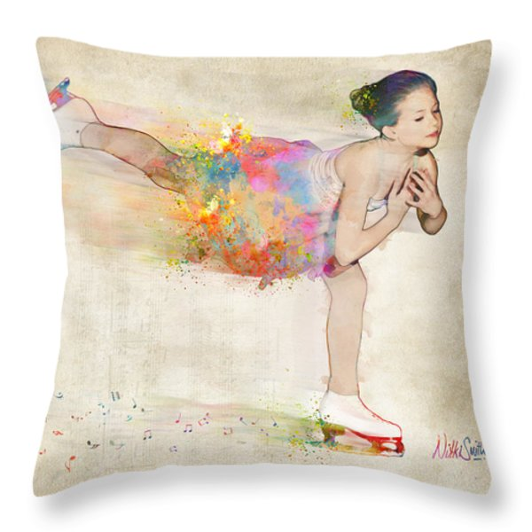 Chase Your Dreams Throw Pillow by Nikki Smith