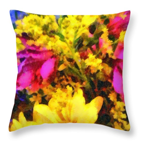 Cheers Throw Pillow by Janine Riley