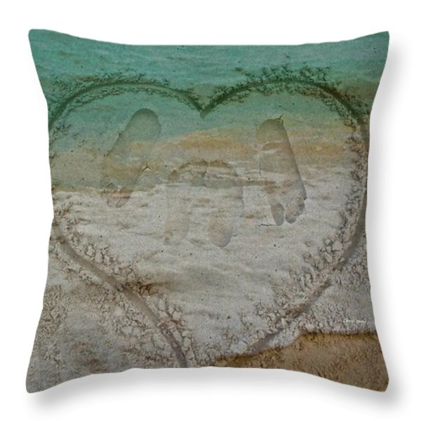 Cherish every day Throw Pillow by Cheryl Young