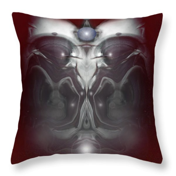 Cherub 7 Throw Pillow by Otto Rapp