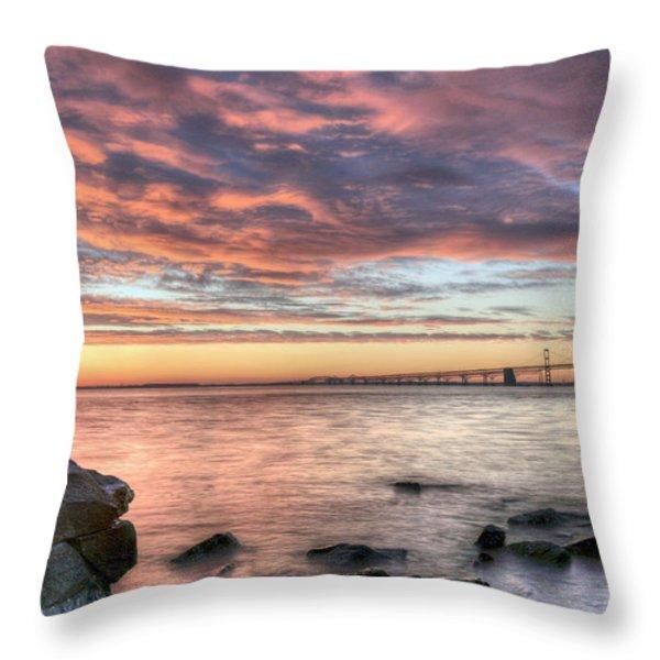 Chesapeake Splendor  Throw Pillow by JC Findley