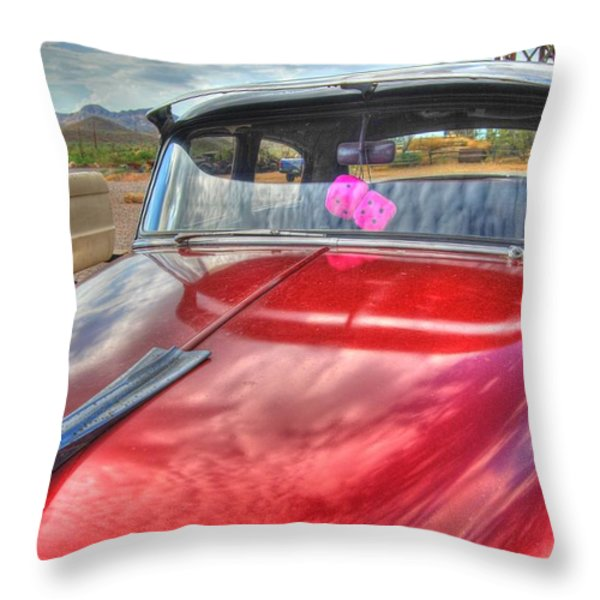 Chevy Classic Throw Pillow by Tam Ryan