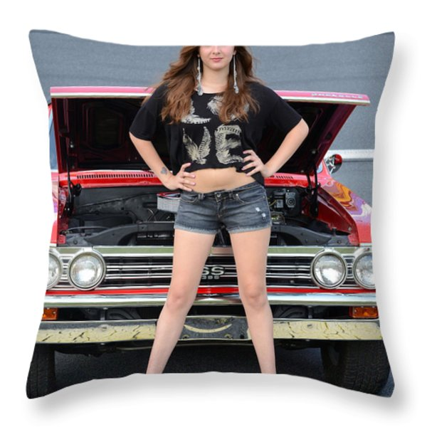 Chic Chevelle Throw Pillow by Mark Spearman