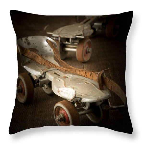 Childhood Memories Throw Pillow by Edward Fielding