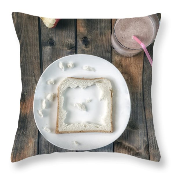 child's menu Throw Pillow by Joana Kruse