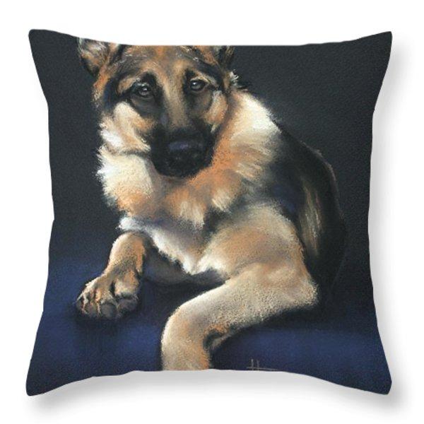 Chilli Throw Pillow by Cynthia House