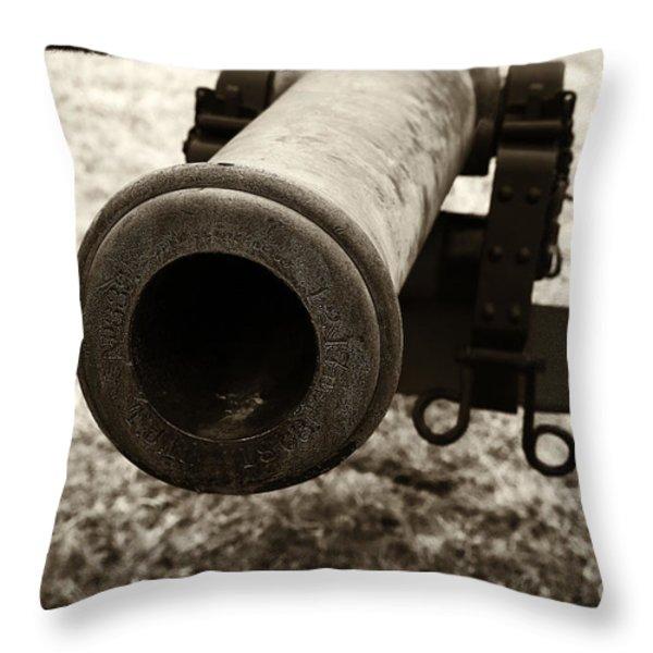 Choosing Targets Throw Pillow by John Rizzuto