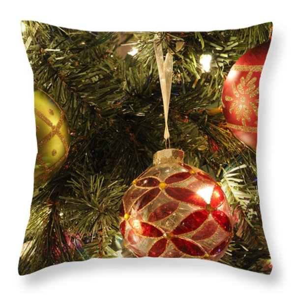 Christmas Cheer Throw Pillow by Luke Moore