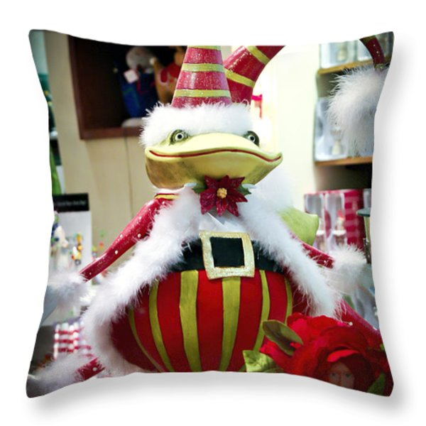 Christmas Decor Throw Pillow by Jon Berghoff