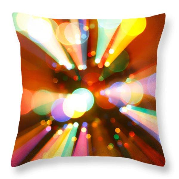 Christmas Tree Throw Pillow by Gaspar Avila
