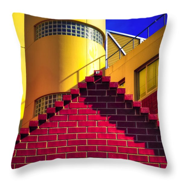 Chromatic Throw Pillow by Wayne Sherriff