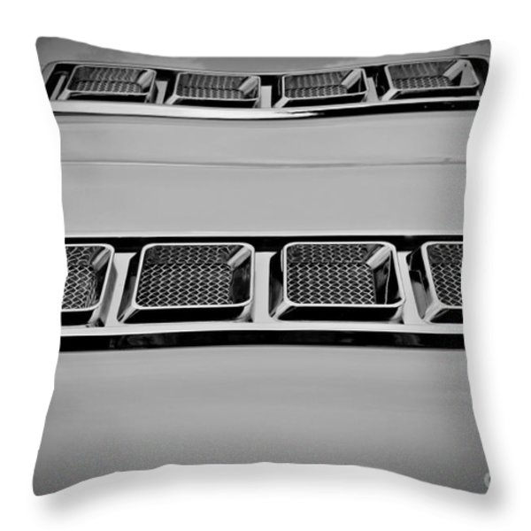 Chrome Throw Pillow by Chalet Roome-Rigdon