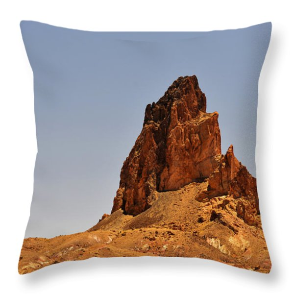 Church Rock Arizona - Stairway to Heaven Throw Pillow by Christine Till