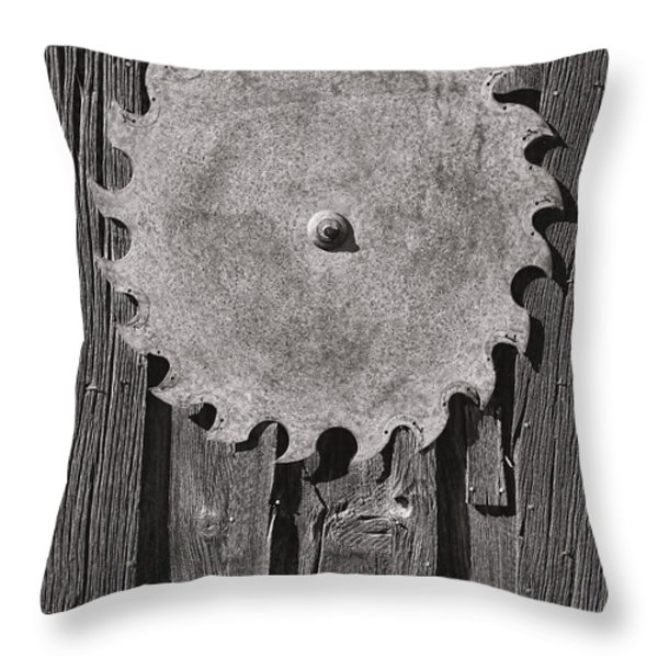 Circular Throw Pillow by Kelley King