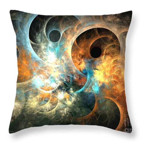 Cirrostratus Throw Pillow by Kim Sy Ok